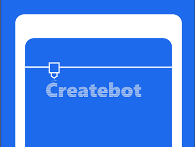2019 New Createbot 3D Printer Catalogue